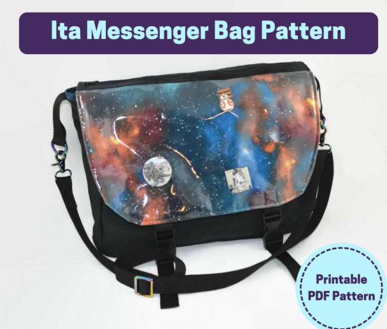ita messenger bag pattern