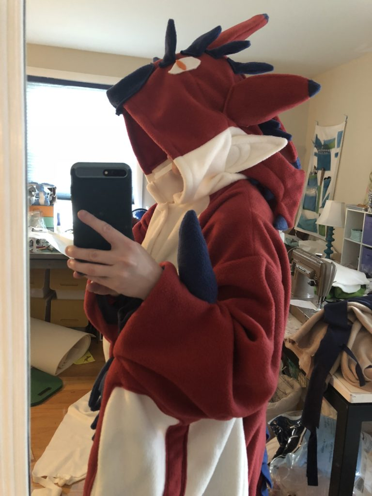 monster hunter kigurumi rathalos