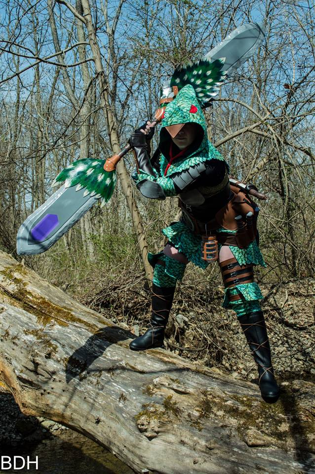 Pukei Beta - Monster Hunter World Cosplay